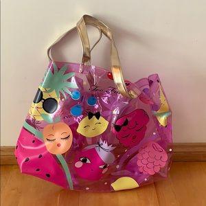 Too faced Tutti Frutti beach bag